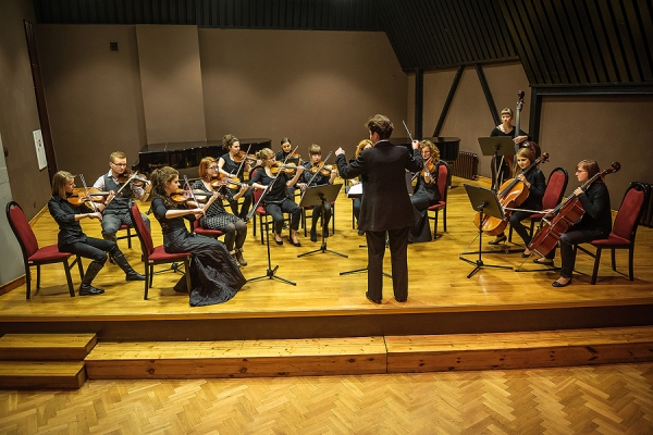 The String Orchestra of the Faculty of Music Education, Choral Art and Church Music
