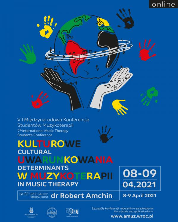 VII Międzynarodowa Konferencja Studentów Muzykoterapii - Kulturowe uwarunkowania w muzykoterapii