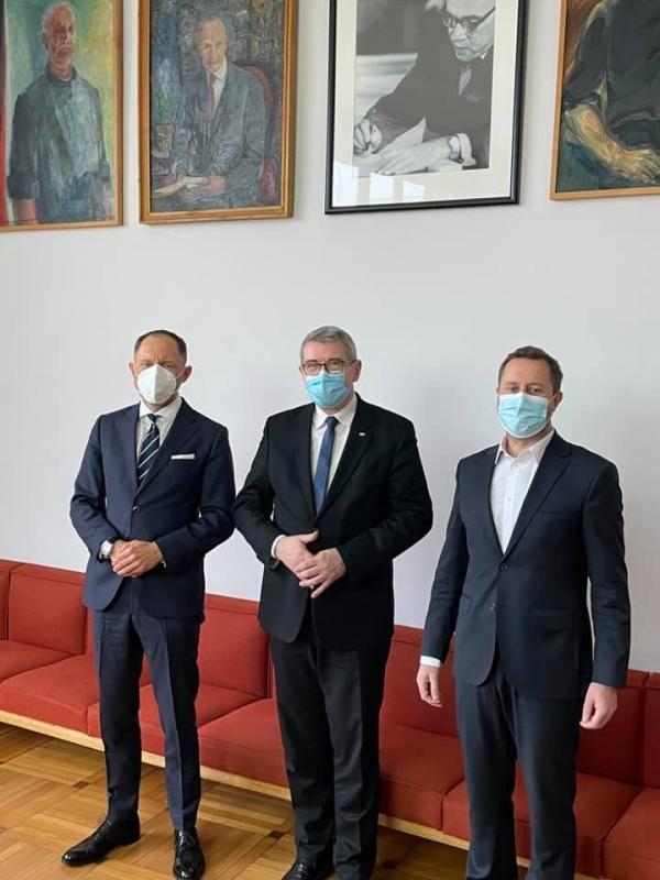 Spotkanie Wiceministra Wojciecha Murdzka z Rektorami wrocławskich uczelni artystycznych