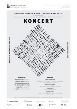 Koncert European Workshop For Contemporary Music