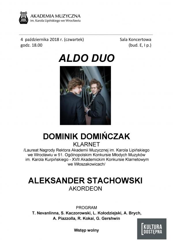 Koncert Aldo Duo