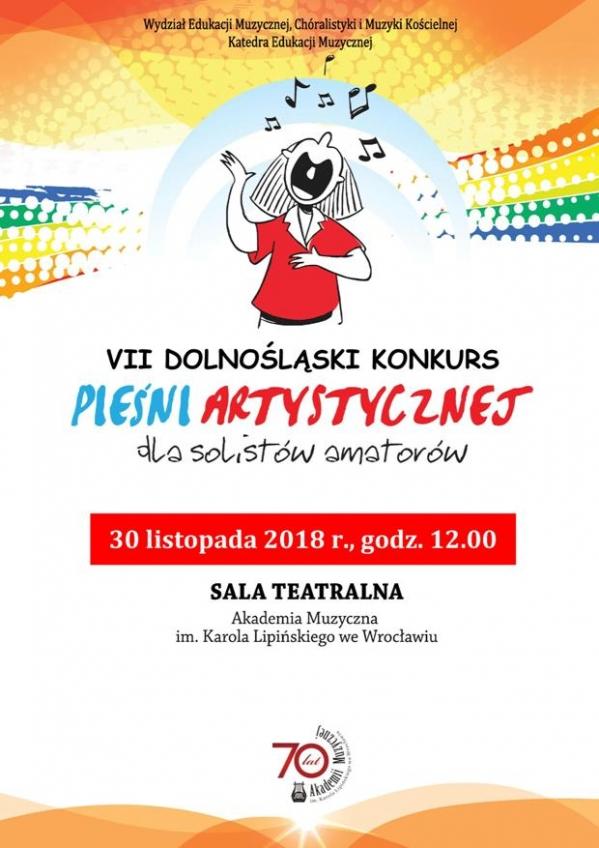 VII Dolnośląski Konkurs Pieśni Artystycznej