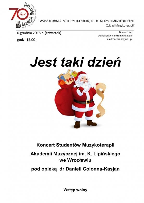 Koncert Studentów Muzykoterapii AMKL: Jest taki dzień