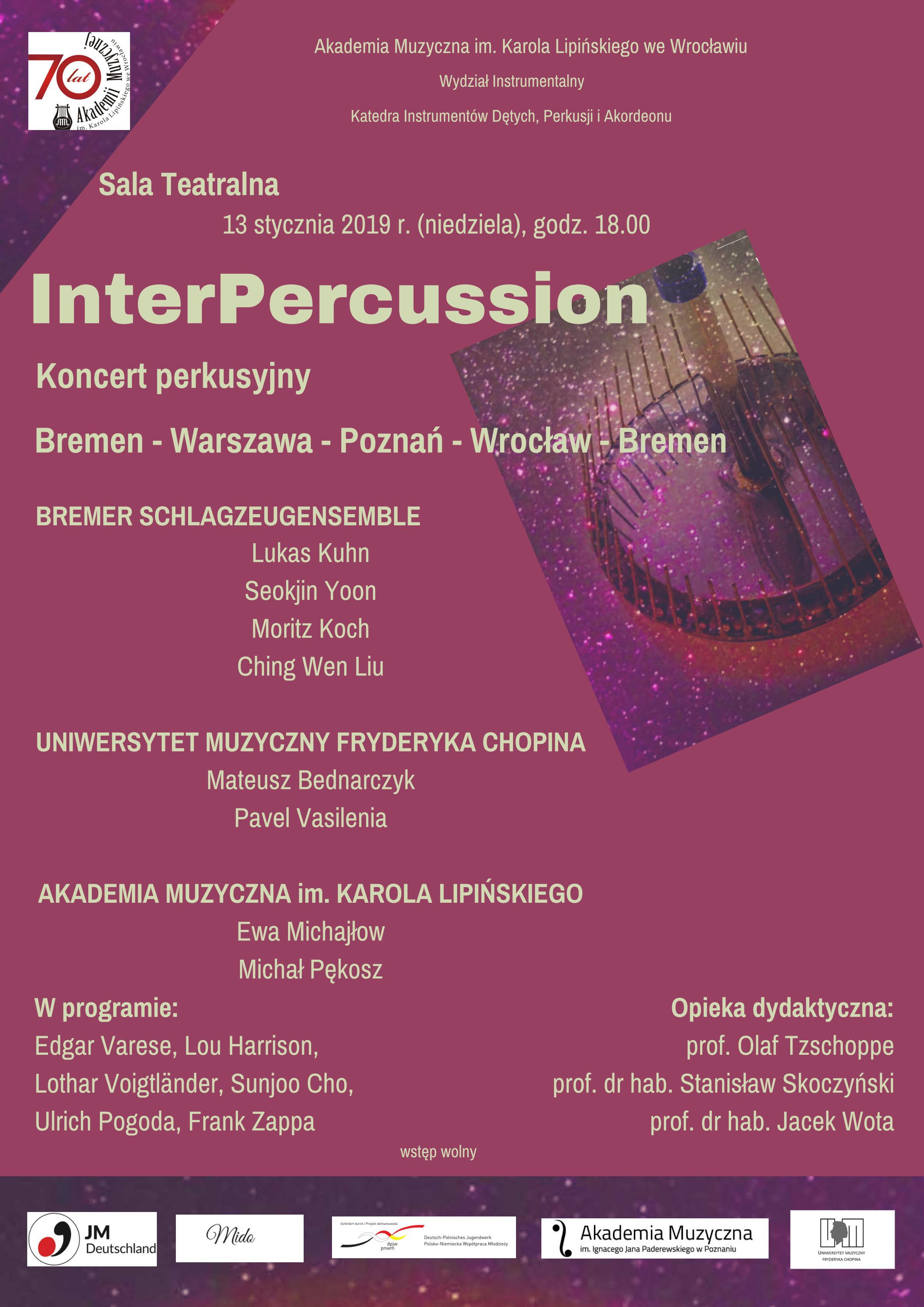 Koncert perkusyjny