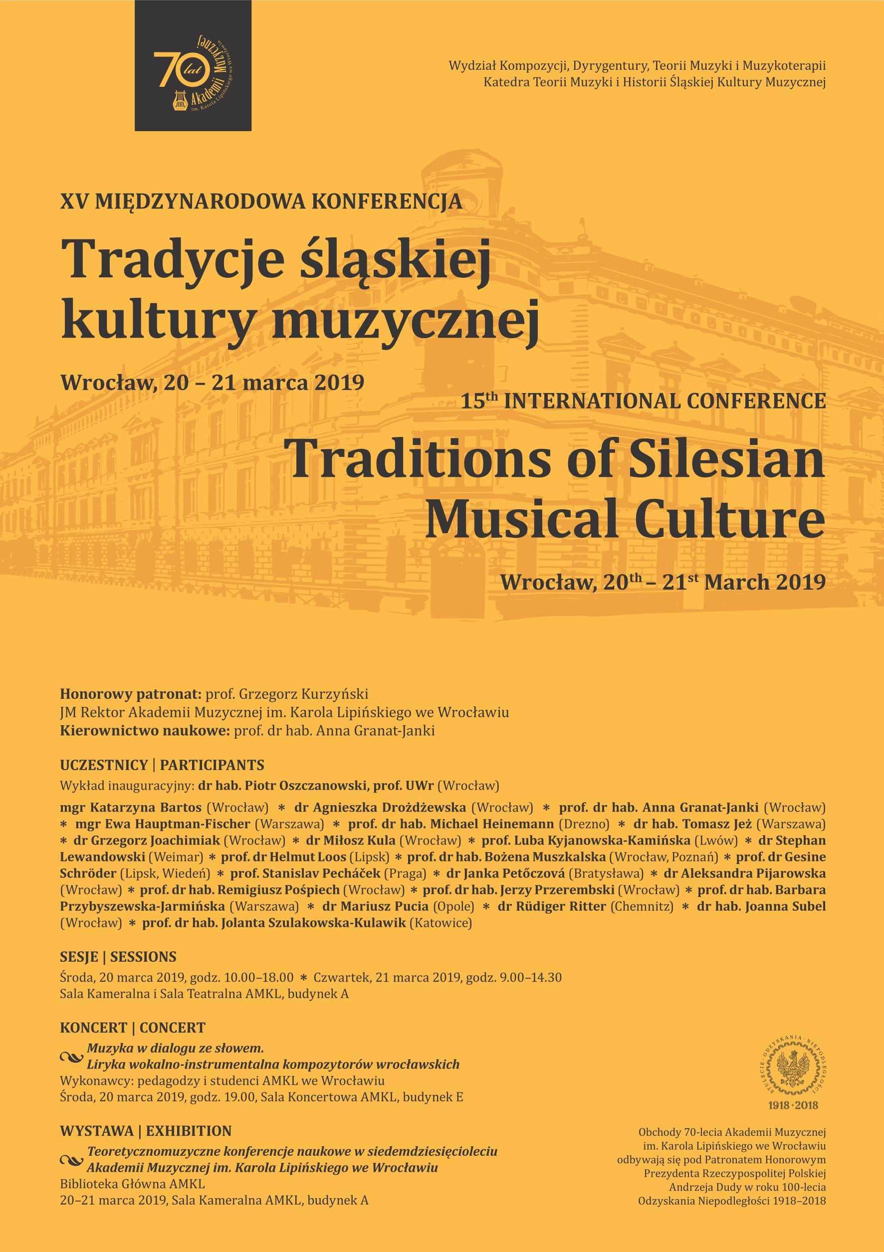 XV Międzynarodowa Konferencja z cyklu