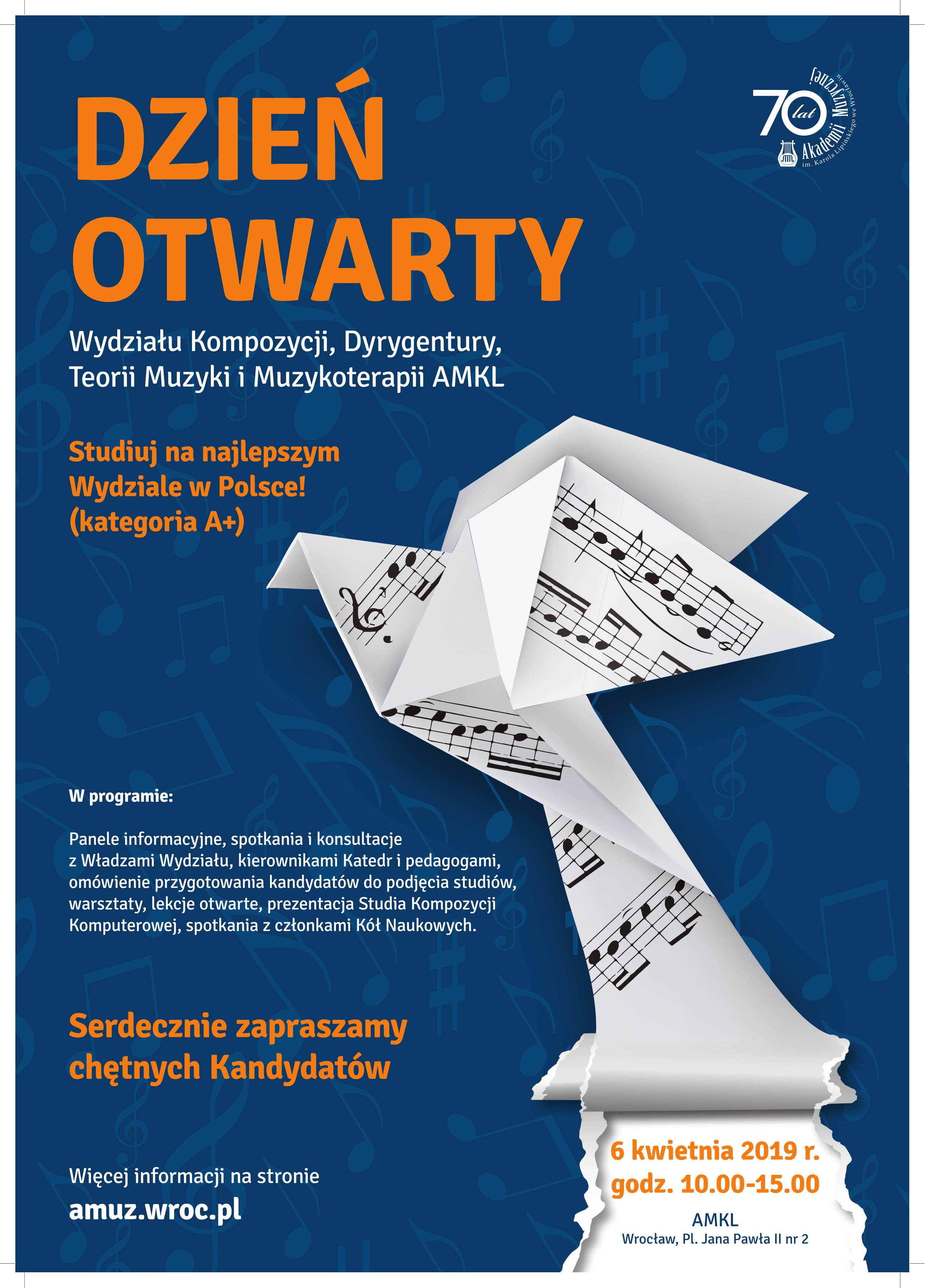 Dzień Otwarty Wydziału Kompozycji, Dyrygentury, Teorii Muzyki i Muzykoterapii