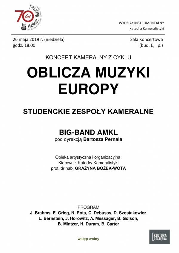Oblicza Muzyki Europy