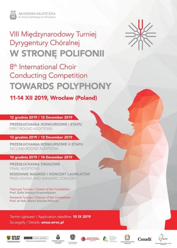Koncert Laureatów VIII Turnieju Dyrygentury Chóralnej W STRONĘ POLIFONII