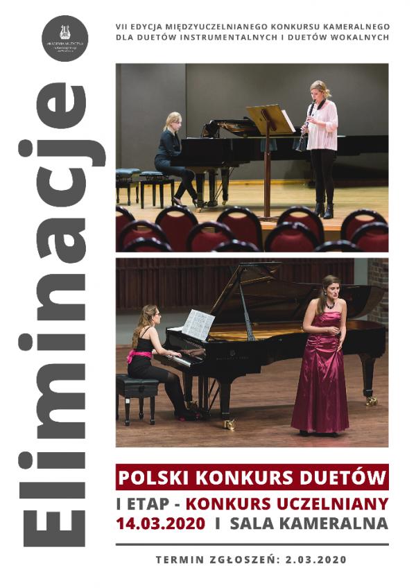 Polski Konkurs Duetów - I Etap (Eliminacje - Konkurs uczelniany)
