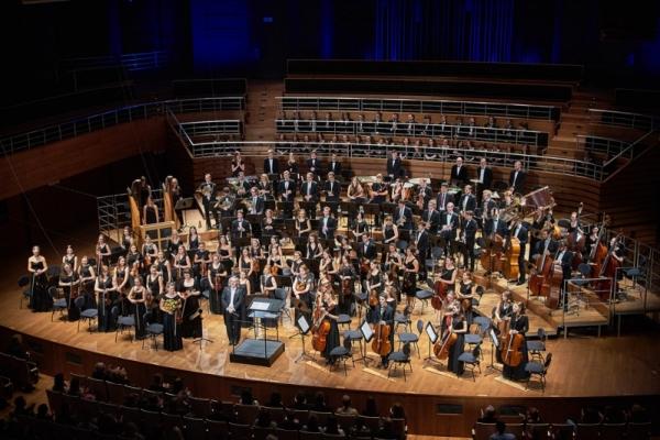 Koncert Europejskiej Studenckiej Orkiestry Symfonicznej - Narodowe Forum Muzyki 19.11.2016