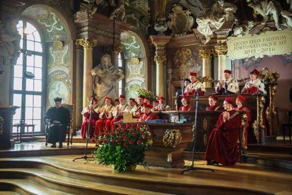 Uroczysta Inauguracja Roku Akademickiego 2015/2016 Uczelni Artystycznych Wrocławia 05.10.2015