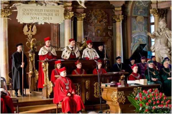 Uroczysta Inauguracja Roku Akademickiego 2014/2015 Uczelni Artystycznych Wrocławia 06.10.2014