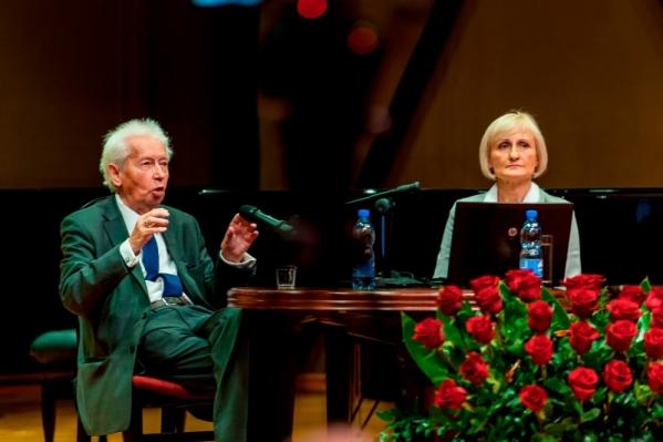 Spotkanie w AMKL z DHC AMKL prof. dr. h.c. mult. Mieczysławem Tomaszewskim 10.10.2016