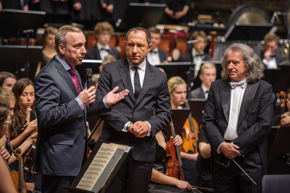 Uroczyste otwarcie Sali Koncertowej Akademii Muzycznej im. Karola Lipińskiego we Wrocławiu 26.10.2013