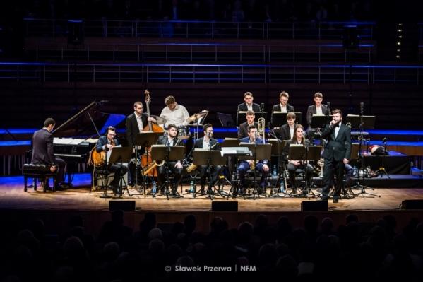 Koncert Big Bandu AMKL w Narodowym Forum Muzyki 04.02.2018