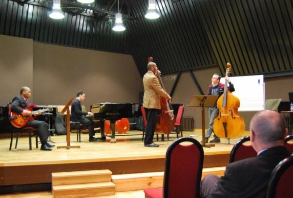 Warsztaty jazzowe prowadzone przez Rona Cartera  04-06.03.2010